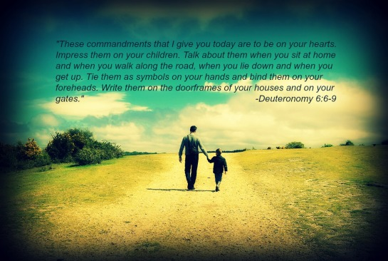 father and son walking-dad quote-2